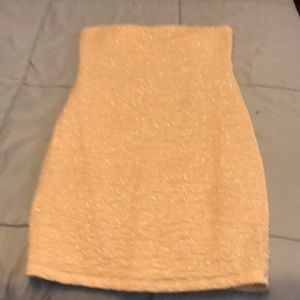 Women's strapless dress. M. Forever 21